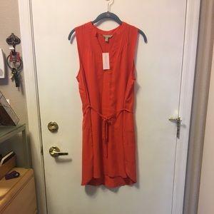 Banana Republic Orange shift dress NWT